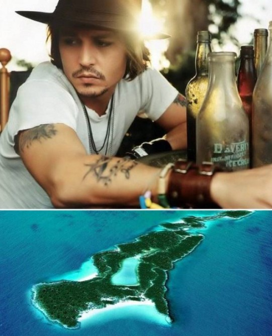 Johnny Depp Buys Island In The Caribbean